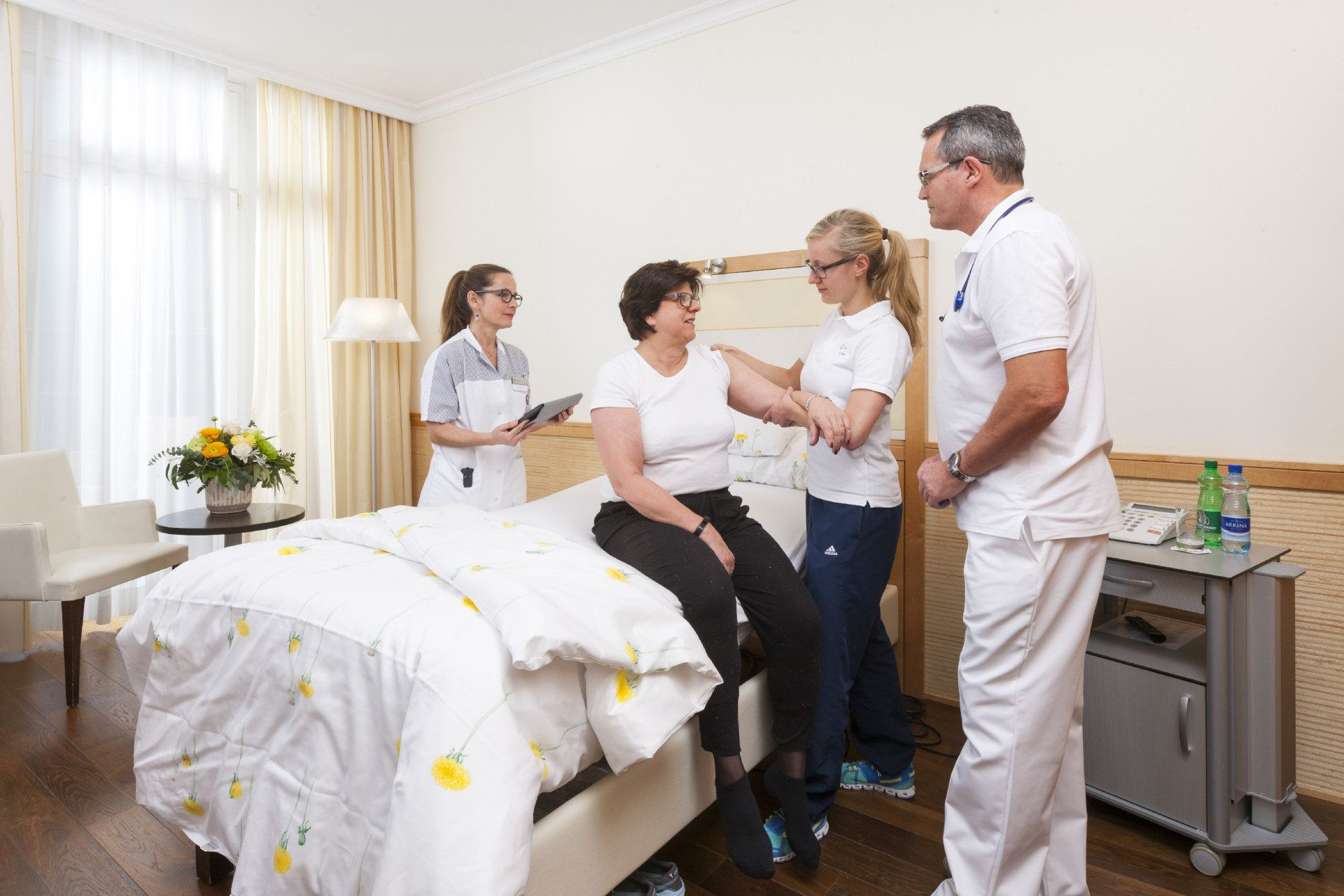 Arztvisite bei stationärer Rehabilitation