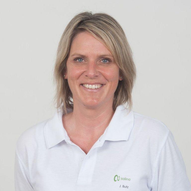 Jeanette Butz; Physiotherapeutin